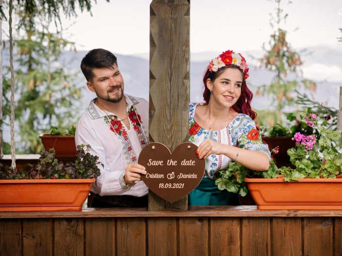 Daniela & Cristian - SAVE THE DATE - 10 octombrie 2020