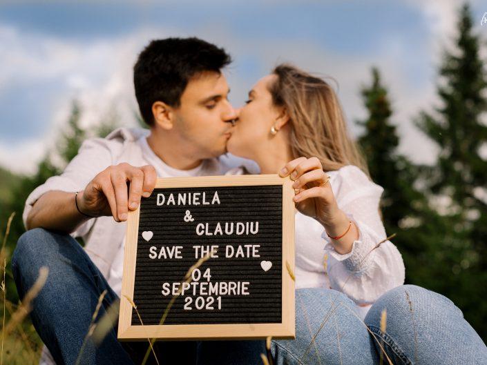 DANIELA & CLAUDIU – SAVE THE DATE – 22 IULIE 2021